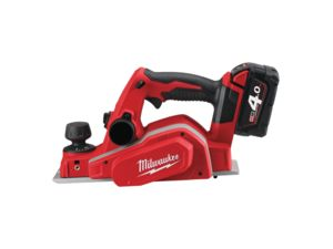 Aku hoblík Milwaukee M18 BP-402C so záberom 82 mm